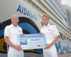 AIDA unterstützt Opfer der Flutkatastrophe in Deutschland