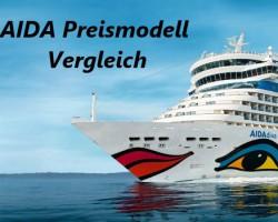 Das AIDA Preis Modell – AIDA Premium, AIDA Vario oder Just AIDA?