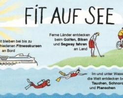 Sportliche Kreuzfahrt: Das Sportangebot der AIDA Flotte