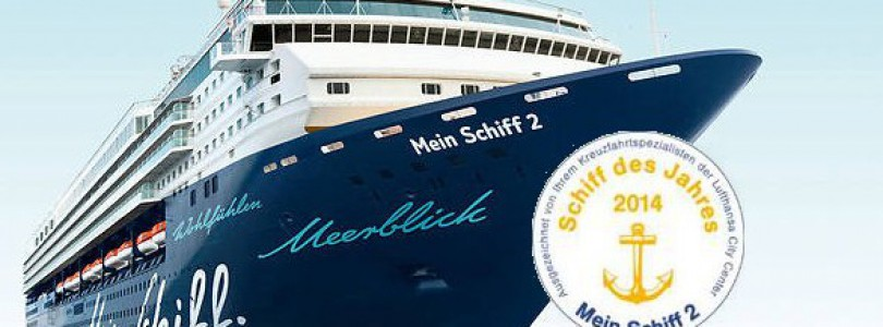 """Mein Schiff 2 ist """"Schiff des Jahres"""" 2014"""