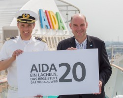 Happy Birthday AIDA – AIDA Cara feiert Geburtstag!
