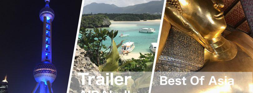 Unser Reisetrailer zur Best-of-Asia-Reise mit AIDAbella