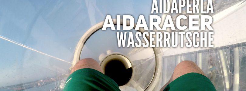 Der AIDA-Racer an Bord von AIDAperla im Videoformat vorgestellt