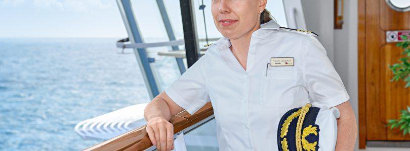 AIDA Cruises ernennt ersten weiblichen Kreuzfahrtkapitän Deutschlands