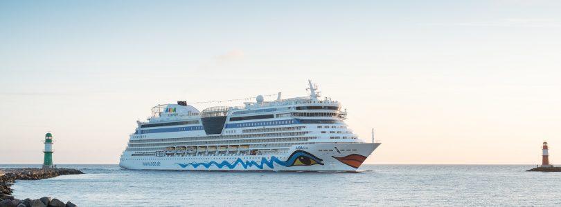 AIDA startet in die Rostocker Kreuzfahrtsaison 2018